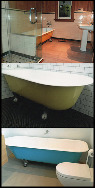 images of beautiful antique baths resurfaced